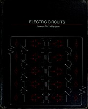 Cover of: Electric circuits | James William Nilsson