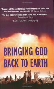 Cover of: Bringing God to Earth