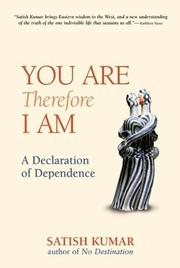 Cover of: You are, therefore I am