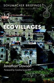 Cover of: Ecovillages | Jonathan Dawson