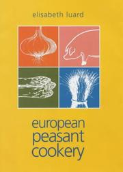 Cover of: European peasant cookery