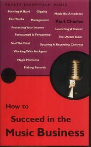 Cover of: How to Succeed in the Music Business