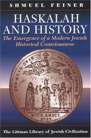 Cover of: Haskalah And History | Shmuel Feiner