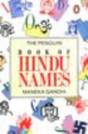 Cover of: Penguin Book of Hindu Names Reprint