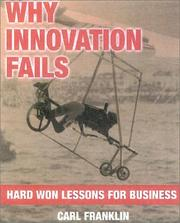 Cover of: Why Innovation Fails