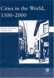 Cover of: Cities in the World, 1500-2000 (Soc Post Med Arch Monographs)