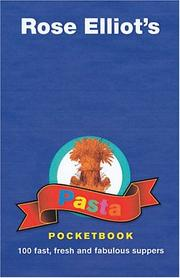 Cover of: Pasta Pocketbook