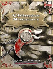 Cover of: Ultimate Monsters