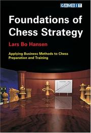 Cover of: Foundations of Chess Strategy | Lars Bo Hansen