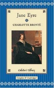 Cover of: Jane Eyre | Charlotte BrontГ«