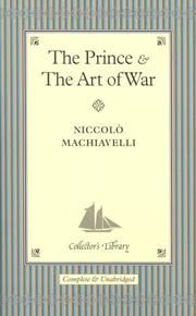 "Cover of: ""The Prince"" and ""The Art of War"""