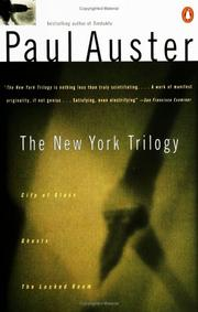Cover of: The New York Trilogy: City of Glass/ Ghosts/ the Locked Room