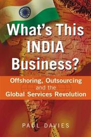 What's This India Business? by Paul Davies