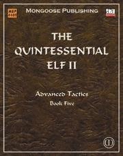 Cover of: The Quintessential Elf II - Advanced Tactics | P. Younts