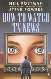 Cover of: How to watch TV news