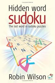 Cover of: Hidden Word Sudoku