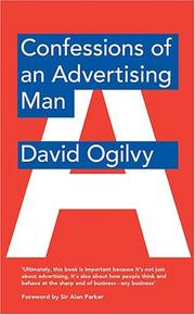 Cover of: Confessions of an Advertising Man | David Ogilvy