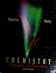 Cover of: Chemistry | William L. Masterton