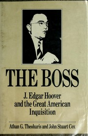 Cover of: The Boss | Athan G. Theoharis, John Stuart Cox