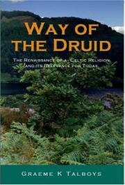 Cover of: Way of the Druid