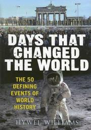 Cover of: Days that changed the world