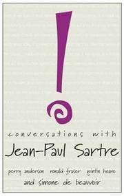 Cover of: Conversations with Jean-Paul Sartre (Conversations With)