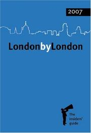 Cover of: London by London