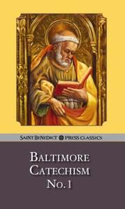 Cover of: Baltimore Catechism No. 1 | n/a