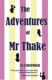 Cover of: The Adventures of Mr Thake