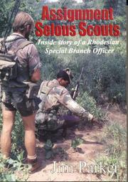 Assignment Selous Scouts by Jim Parker