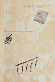Cover of: Field Museum of Natural History ... biennial report by Field Museum of Natural History