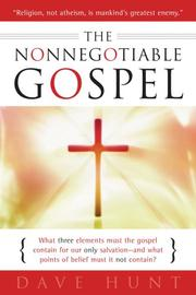 Cover of: The Nonnegotiable Gospel