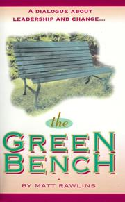 Cover of: The Green Bench
