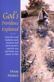Cover of: God's providence explained