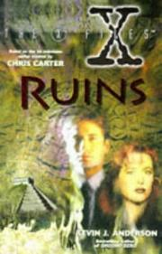 Cover of: Ruins-X Files