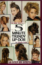 Cover of: 5 Minute Trendy Up-Dos | Robert Cronin