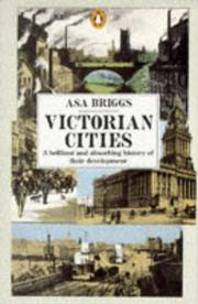 Cover of: Victorian cities