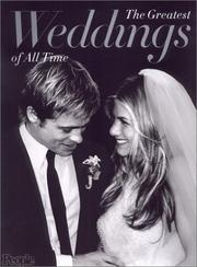 Cover of: The greatest weddings of all time. |