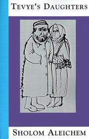 Cover of: Tevye's daughters
