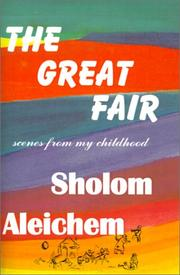 Cover of: The great fair: scenes from my childhood