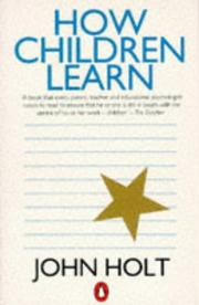 Cover of: How Children Learn