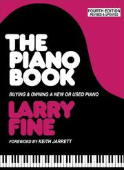 The Piano Book by Larry Fine