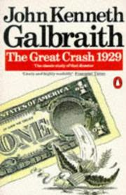Cover of: Great Crash 1929, the
