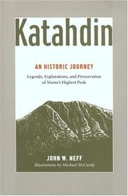 Cover of: Katahdin | John Neff