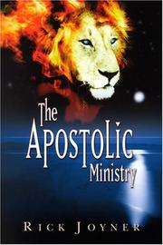 Cover of: The Apostolic Ministry