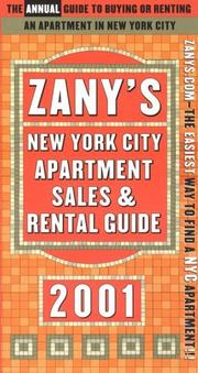 Cover of: Zany