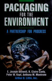 Cover of: Packaging for the Environment | E. Joseph Stilwell