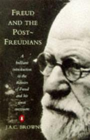 Cover of: Freud & the Post-Freudians (Penguin Psychology) | Brown, J. A. C.
