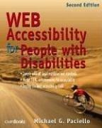 Cover of: Web accessibility for people with disabilities