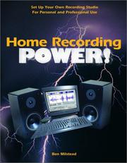 Home Recording Power!